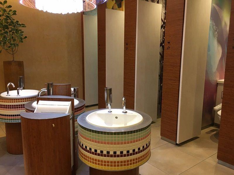 渋谷ヒカリエのトイレ(修正)