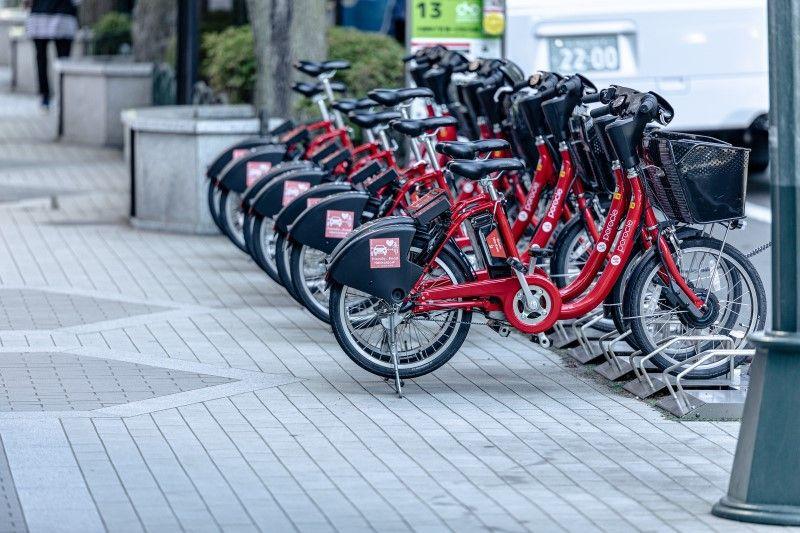 観光地をめぐるなら、自転車のシェアサービスがおススメ