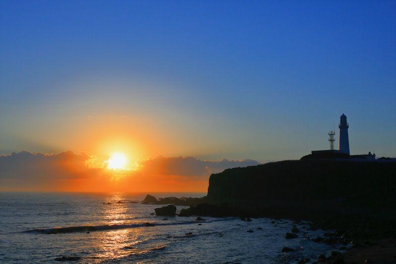 日本一早い初日の出が拝める犬吠埼