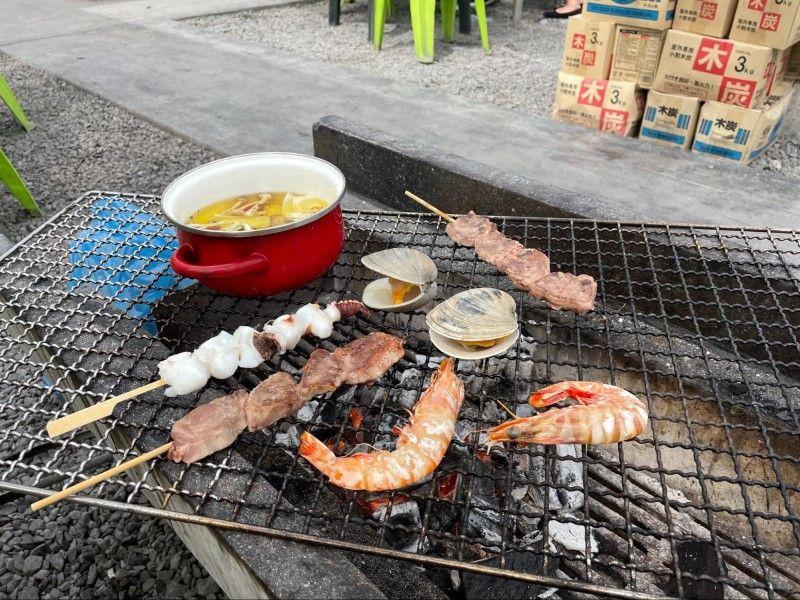 新鮮な海鮮で浜焼きBBQ・愛知県・魚太郎本店