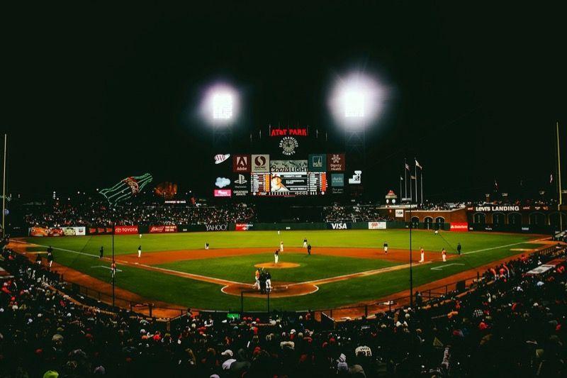 メジャーリーグの試合