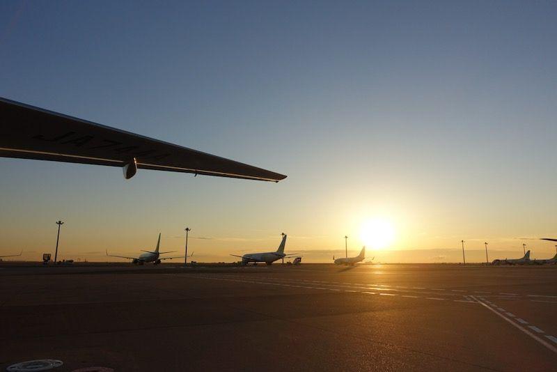 羽田空港の初日の出