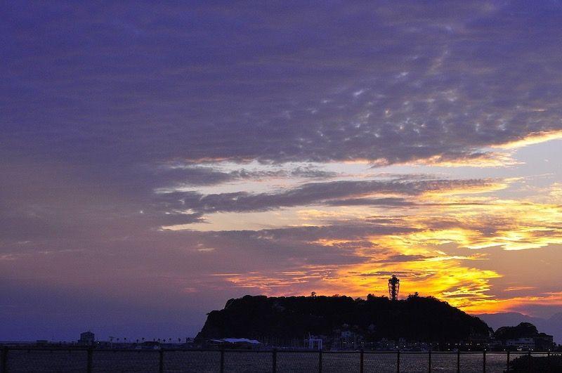 江ノ島の日の出