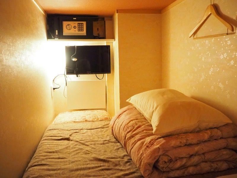ホステルわさび名古屋のベッドスペース
