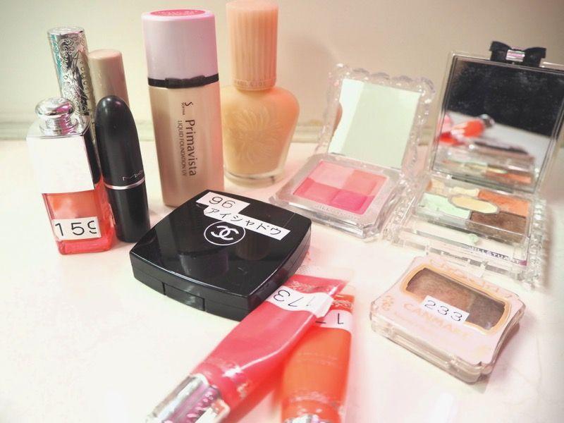 新宿VIPラウンジで無料利用できる最新化粧品たち