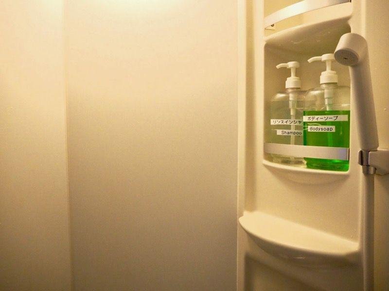 東京VIPラウンジのシャワールーム